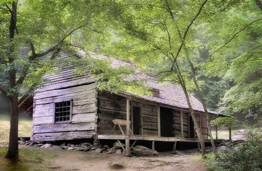 Ogle Homestead Smoky Mountain Rustic Cabin Thomas Schoeller