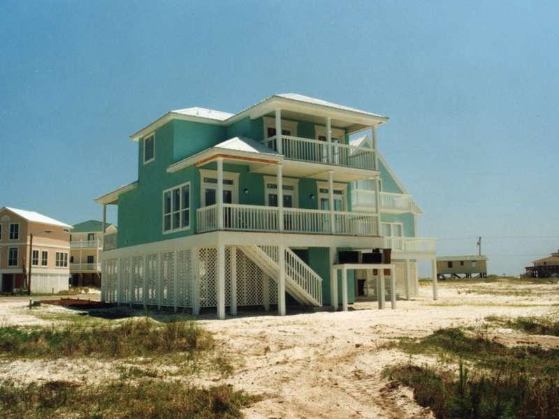 Oglethorpe Raised Beach Home Plan House Plans