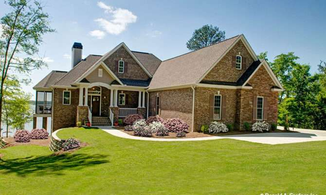 Old Brick House Plans Multi Gabled Home
