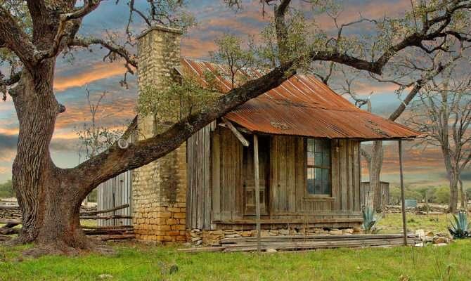 Old Farm House Robert Anschutz
