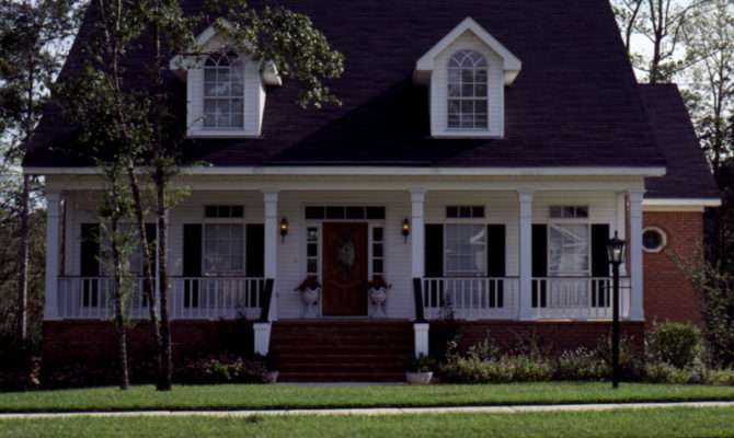 Old Fashioned Country House Plans Design