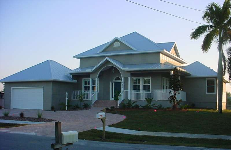 Old Florida Style Custom Home Port Charlotte