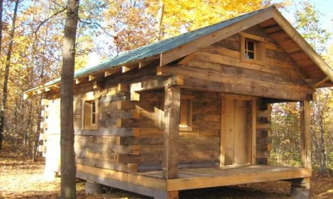 Old Log Cabin Interiors Small Rustics Cabins Plan