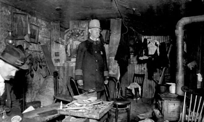 Old New York Basement Living Conditions Tenement