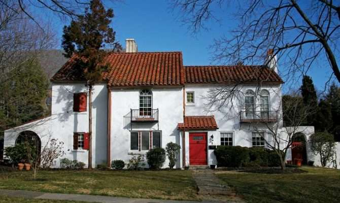 Old Spanish Style House Plans