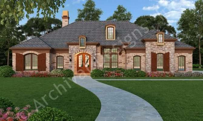 Old Wesley House Plan Ranch