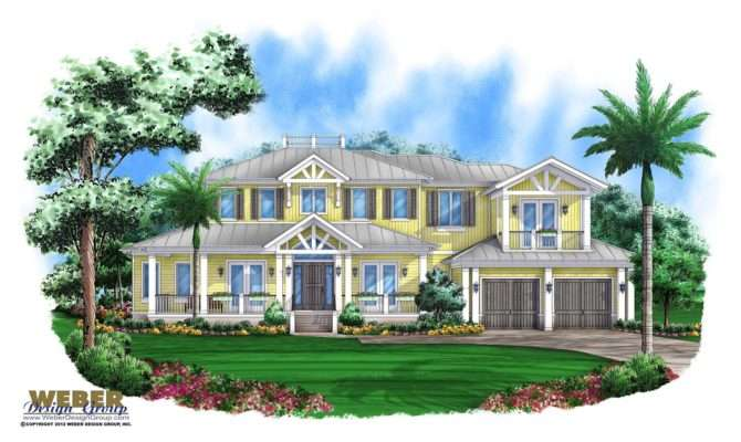 Olde Florida House Plan Arbordale Weber Design Group