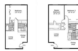 One Bedroom Apartment Floor Plans Find House