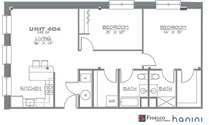 One Bedroom Floor Plans Loft Joy Studio Design Best