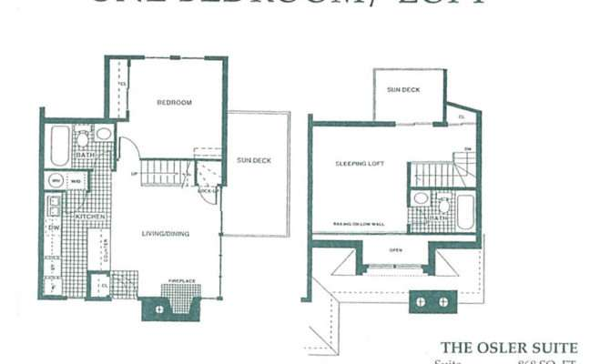 One Bedroom Loft Floor Plan Pin Pinterest