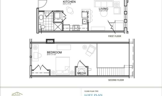 One Bedroom Loft Radford Court Apartments Seattle