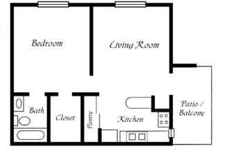 One Bedroom Trailer Floor Plans Joy Studio Design Best