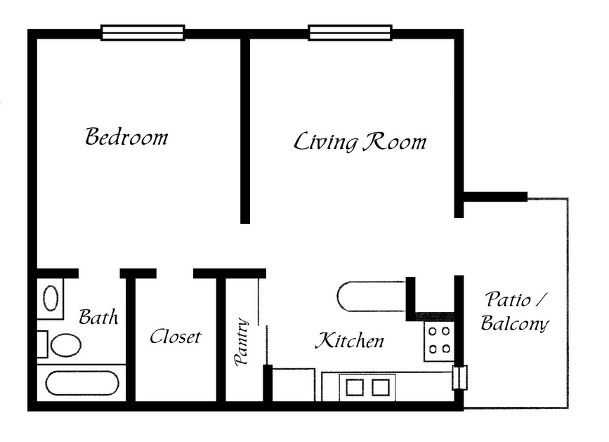One Bedroom Trailer Floor Plans Joy Studio Design Best
