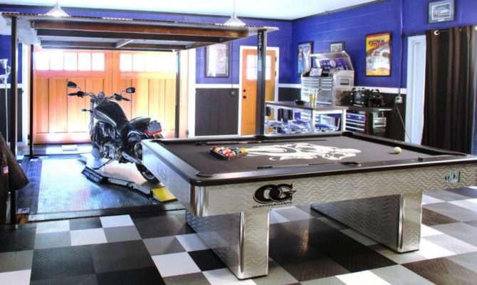 One Car Garage Man Cave Ideas Your Dream