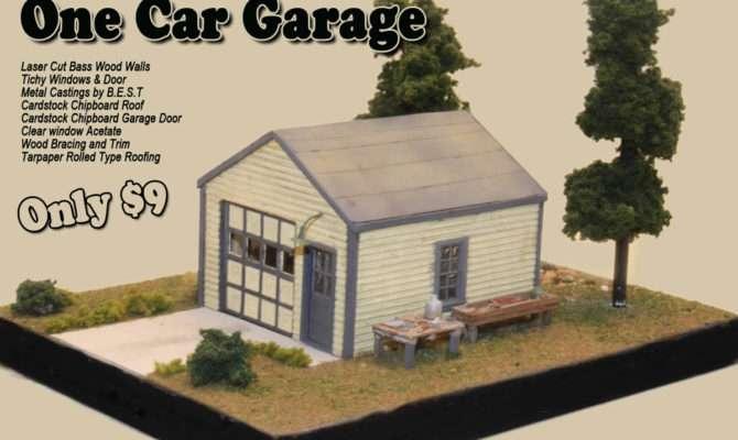 One Car Garage Onecargarage Railroad Kits Value
