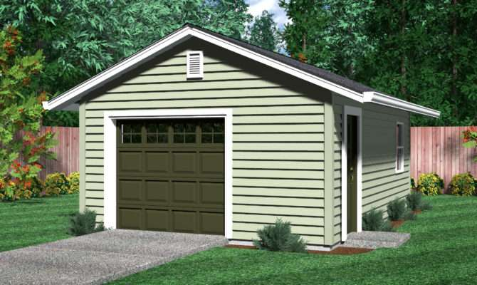 One Car Garage Plans Submited