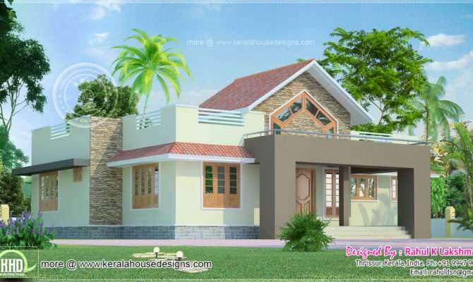 One Floor Home Kerala