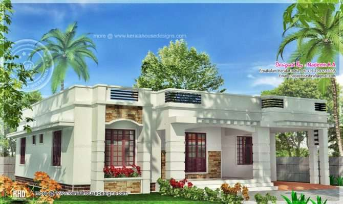 One Floor Kerala Style Home Square Meter Indian House Plans