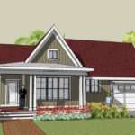 One Level Have Great Front Porch Designs Bungalow House Plans