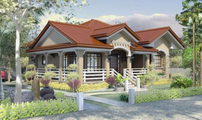 One Storey House Design Philippines Bungalow Designs Home