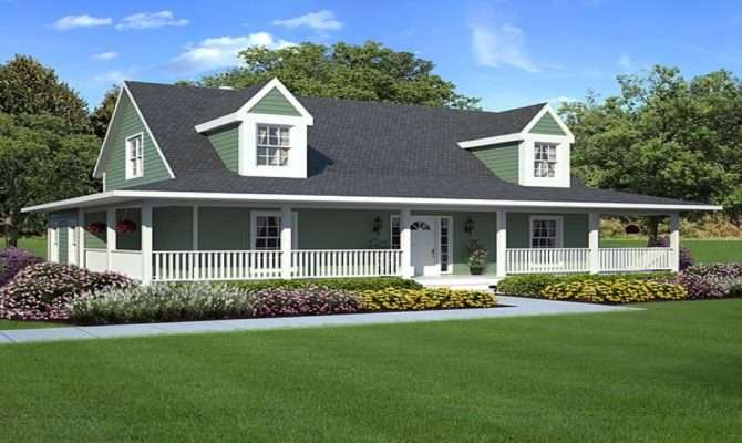 One Story Cottages Rustic House Plans Farm