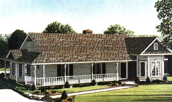 One Story Farmhouse Plans Victorian