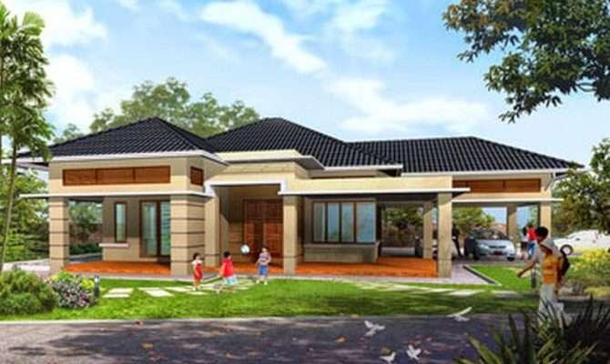 One Story Home Design