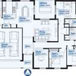 One Story House Floor Plans Moreover Small Modern Single