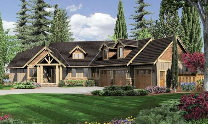 One Story House Plans Walkout Basement Fantastic