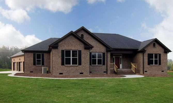 One Story New Home Pittsboro Builders Stanton Homes