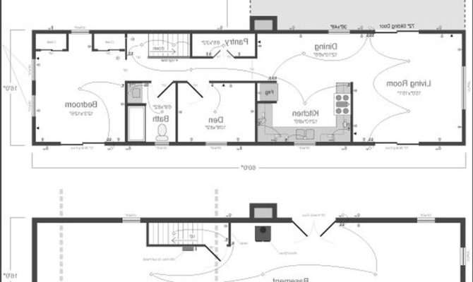 One Story Rectangular House Plans Architectures Design