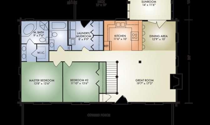 Open Concept Log Home Floor Plans Thecarpets