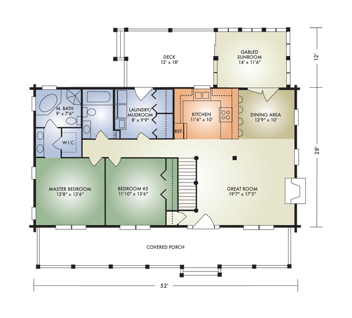 Open Concept Log Home Floor Plans Thecarpets