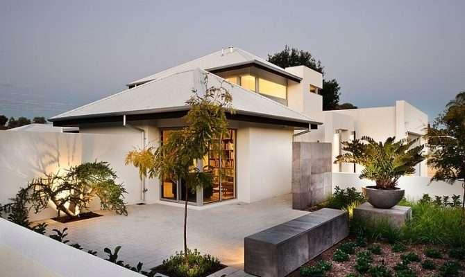 Open Floor Plan House Interior Design Located Sunny Australia