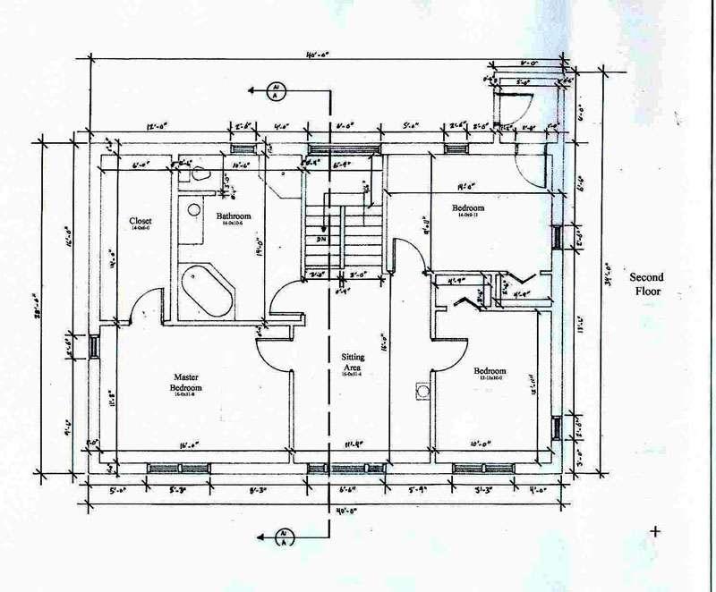 Open Floor Plan House Plans Cottage