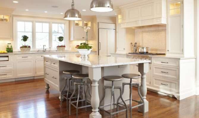 Open Floor Plan Kitchen Renovation Traditional