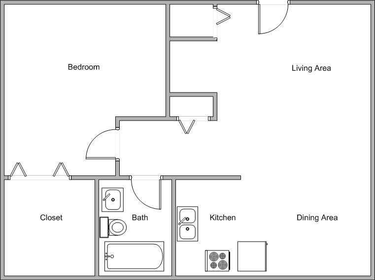 Open Floor Plans House