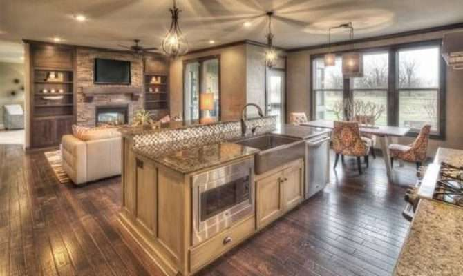 Open Kitchen Floor Plans Plan