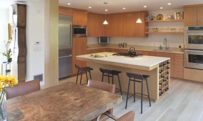 Open Kitchen Island Large Islands Floor