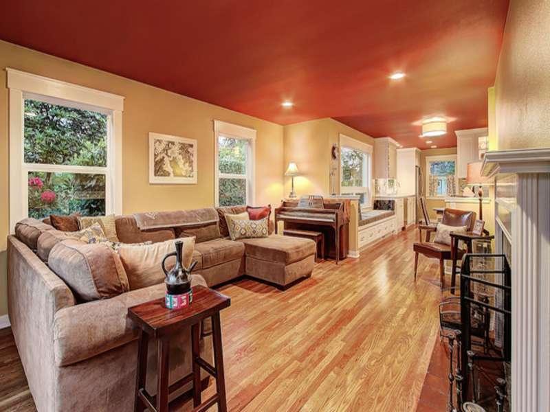 Open Living Room Dining Apartment Interior Design
