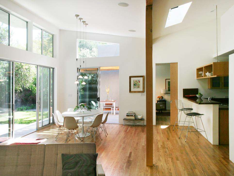 Open Modern Great Room Jeffrey Tohl Hgtv