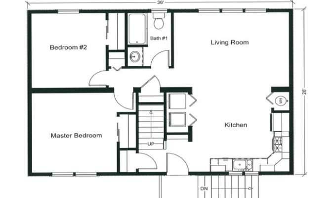 Open Modular Floor Plan Has Potential Bedrooms