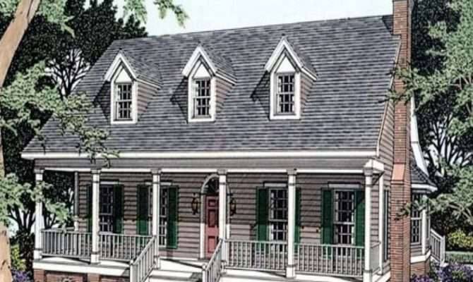 Open One Story House Plans