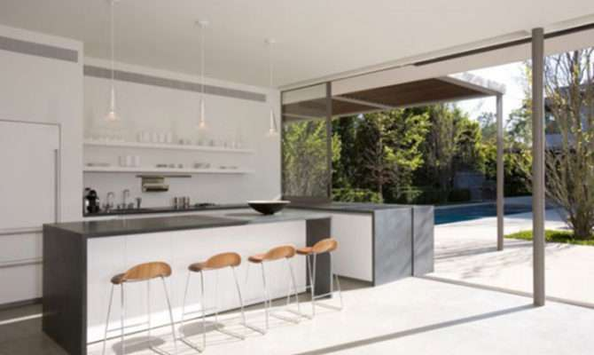 Open Plan Kitchen Decor Layouts One Total