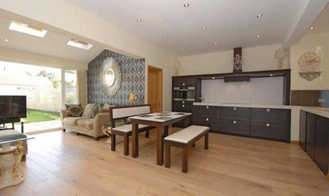 Open Plan Kitchen Dining Living Room Modern