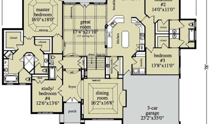 Open Ranch Style Floor Plans House