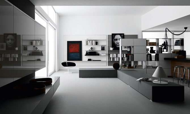 Open Space Living Room Designs Valcucine