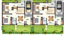 Orchids Kovai Row Houses Floor Plans