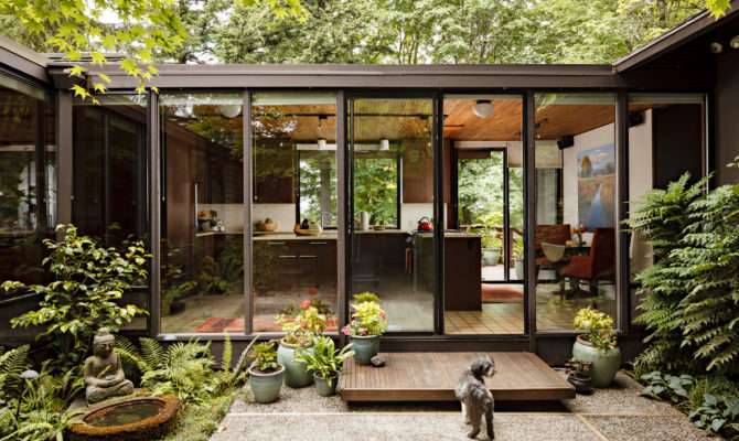 Original Mid Century Modern House Plans