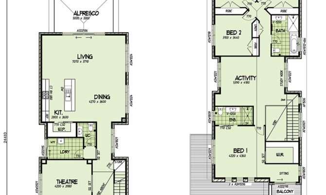 Orlando Double Storey Narrow Home Design